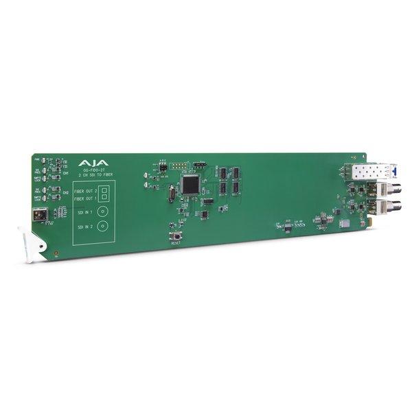 AJA AJA OG-FIDO-2T / 2-ch. 3G-SDI to single mode LC-fiber transmitter