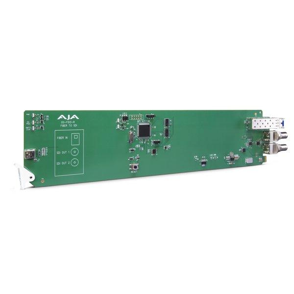 AJA AJA OG-FIDO-R /1-ch. single mode LC-fiber to 3G-SDI receiver