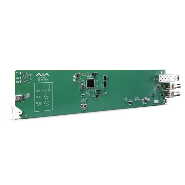 AJA AJA OG-FIDO-T / 1-ch. 3G-SDI to single mode LC-fiber transmitter