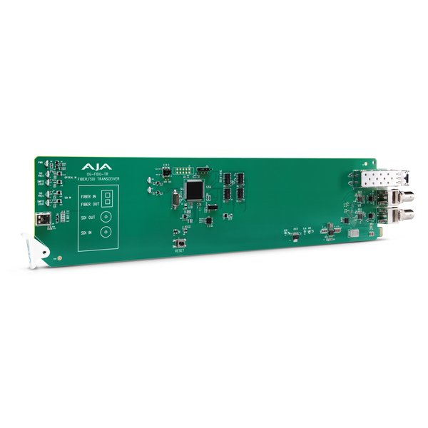 AJA AJA OG-FIDO-TR-MM / 1-ch. 3G-SDI/MM LC-fiber transceiver