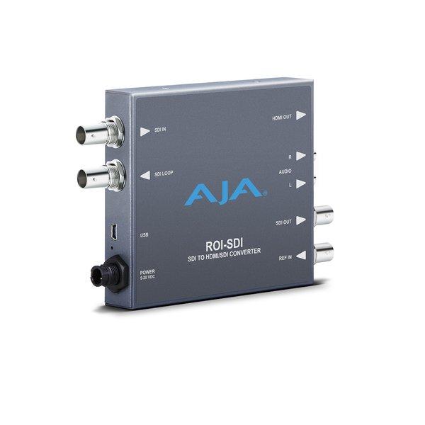 AJA AJA ROI-SDI / 3G-SDI to HDMI/3G-SDI Scan Converter with Region of Interest Scaling
