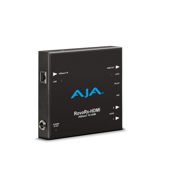 AJA AJA ROVORX-HDMI / UltraHD/HD HDBaseT Receiver to HDMI with PoH