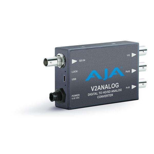 AJA AJA V2Analog / HD/SD-SDI to Analog Mini-Converter