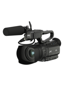 JVC JVC GY-HM250E Compacte live streaming 4K camcorder met SDI en Broadcast overlay