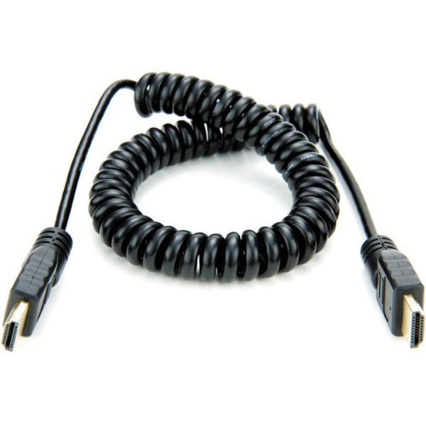 Atomos Atomos coiled full HDMI to full HDMI cable (50-65cm)