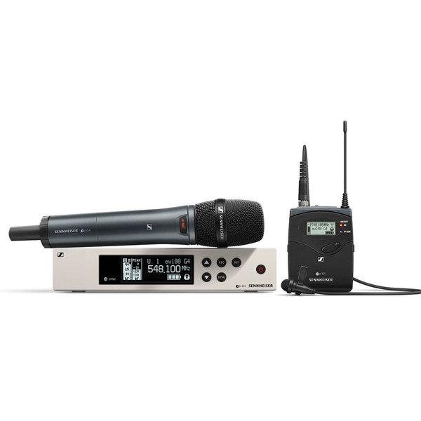 Sennheiser Sennheiser EW 100 G4-ME2/835-S wireless handmicrofoon & clip-on microfoon