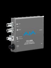 AJA AJA 12G AMA-R 4-Ch Emb/Disemb with single ST RX