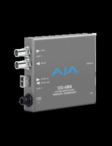 AJA AJA 12G AMA-T 4-Ch Emb/Disemb with single LC TX