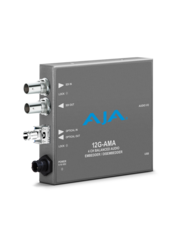 AJA AJA 12G AMA-T 4-Ch Emb/Disemb with single ST TX
