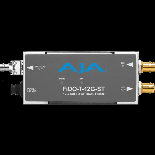 AJA AJA FIDO-T-12G ST Single ch. SD/HD/12G SDI to fiber + loop SDI out