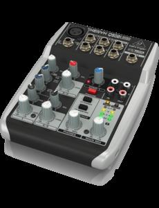 Behringer Behringer XENYX Q502USB 5-Input 2-Bus Mixer