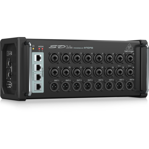 Behringer Behringer SD16 I/O Box with 16 Remote-Preamps & Monitoring Hub