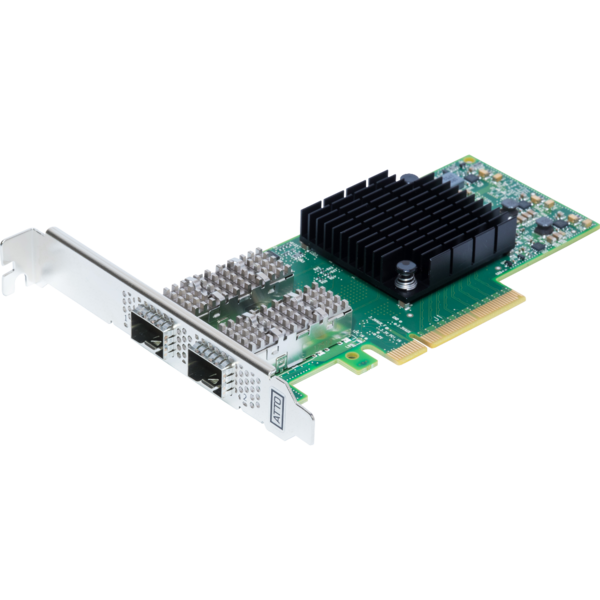 Atto Atto FastFrame N322 Integrated SFP28 Optical Interface