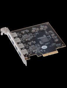 Sonnet Sonnet Allegro Pro USB 3.1 PCIe Card (4x10Gb charging ports)
