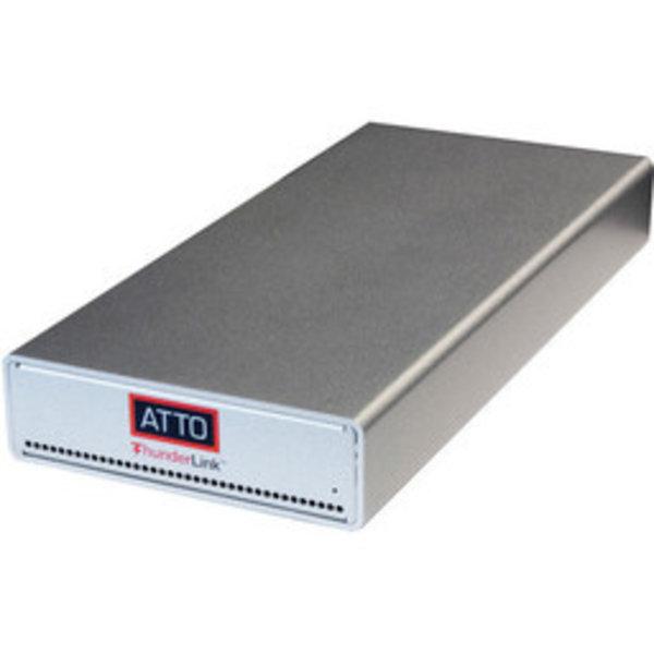 Atto Atto ThunderLink FC 3322 (SFP+) - 40Gb/s Thunderbolt 3 (2-port) to 32Gb/s FC (2-port) ( includes SFPs )