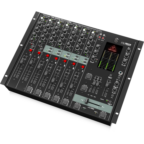 """Behringer Behringer DX2000USB Professional 7-Channel DJ Mixer with """"Contact-Free"""" Crossfader"""
