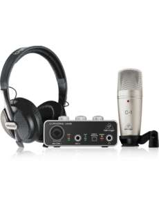 Behringer Behringer U-PHORIA STUDIO Complete Recording/Podcasting Bundle