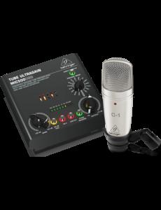 Behringer Behringer VOICE STUDIO Complete Recording Bundle