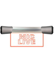 Sonifex Sonifex LD-20F1MCL LED Single Flush Mounting 20cm MIC LIVE sign