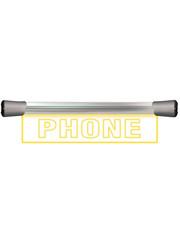 Sonifex Sonifex LD-40F1PHN LED Single Flush Mounting 40cm PHONE sign