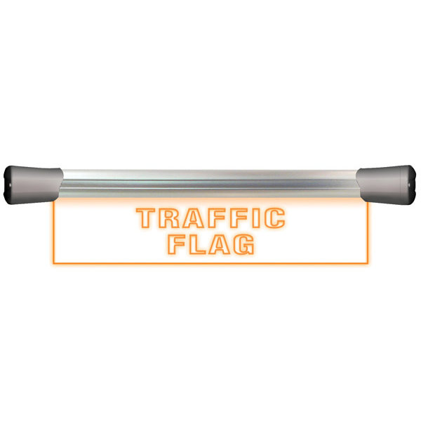 Sonifex Sonifex LD-40F1TRF LED Single Flush Mounting 40cm TRAFFIC FLAG sign
