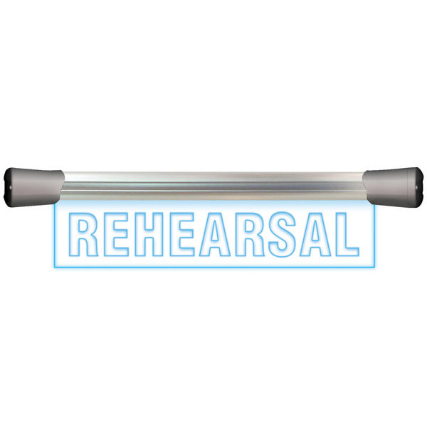Sonifex Sonifex LD-40F1REH LED Single Flush Mounting 40cm REHEARSAL sign