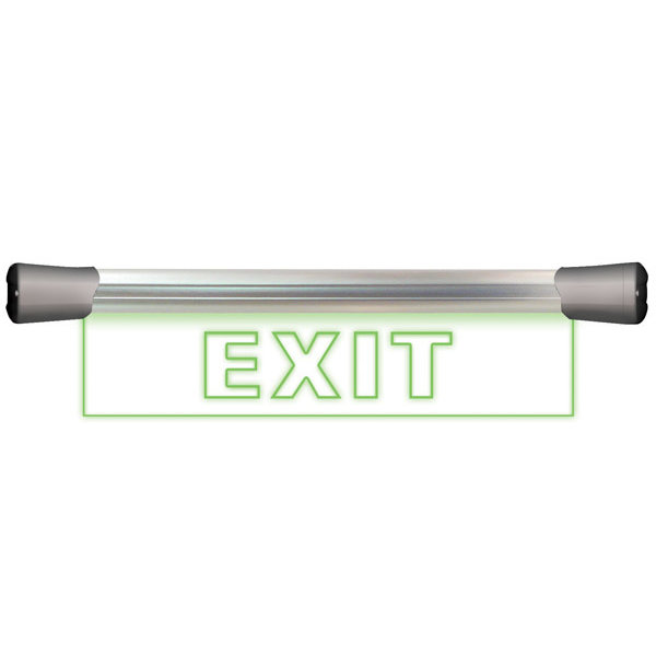 Sonifex Sonifex LD-40F1EXIT LED Single Flush Mounting 40cm EXIT sign