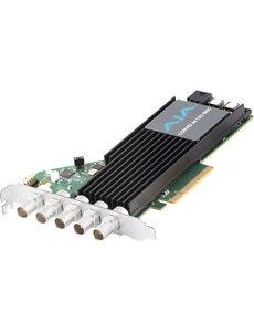 AJA AJA Corvid-44-12G-FL-BNC 12G-SDI PCIe, 4Ch I/O, Tall bracket, no Fan, BNC