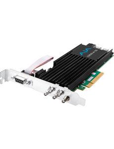 AJA AJA Corvid-44-12G-FL-BNC 12G-SDI PCIe, 4Ch I/O, Tall bracket, no Fan, HDBNC