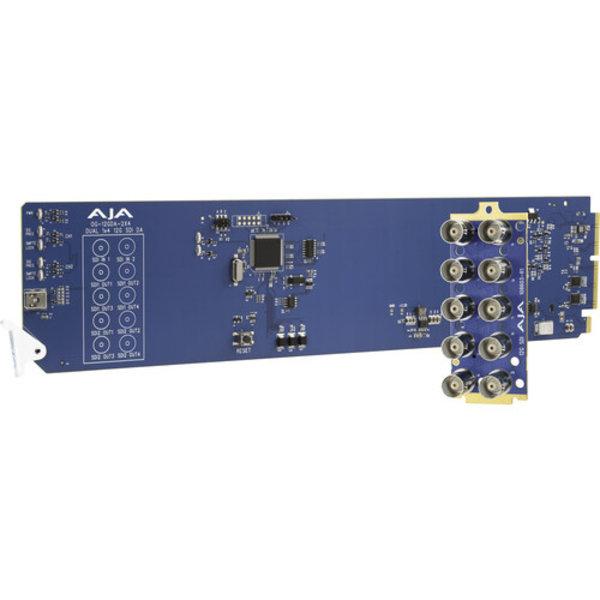 AJA AJA OG-12GDA-2x4 Dual 1x4 12G-SDI Distribution Amplifier