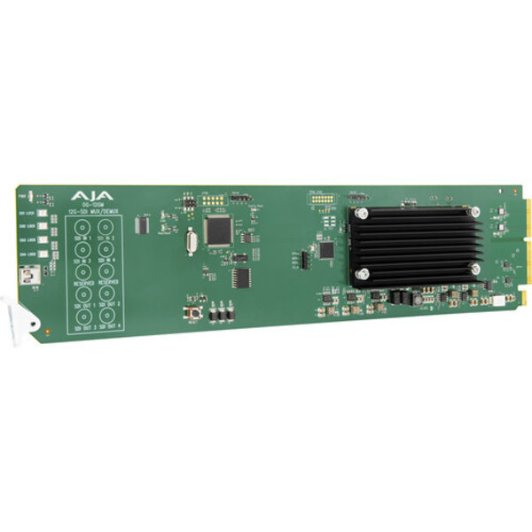 AJA AJA OG-12GM 12G-SDI to/from SDI Muxer/DeMuxer