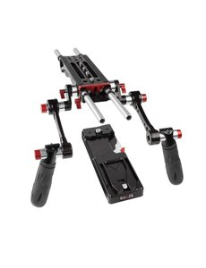 SHAPE SHAPE 7000 V-Lock quick release baseplate (BP0008), tripod plate and double quick handle rosette