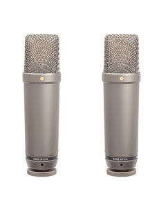 RODE RODE NT1-A Cardioid Condenser Microphone (pair)