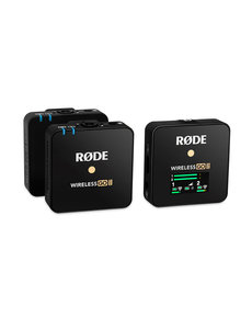 RODE RODE Wireless GO II Dual Channel Wireless Microphone System