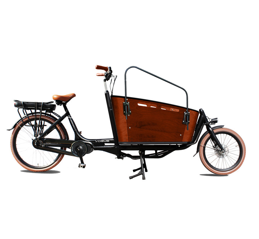 cargo carry 2 7v mat zwart/bruin 2020 Elektrische bakfiets