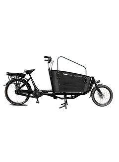 Vogue cargo carry 2 zwart 2021 Elektrische bakfiets