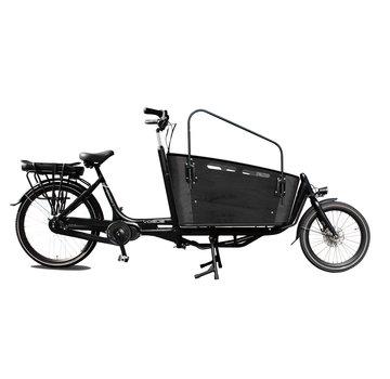 Vogue cargo carry 2 7v zwart/zwart 2020 Elektrische bakfiets