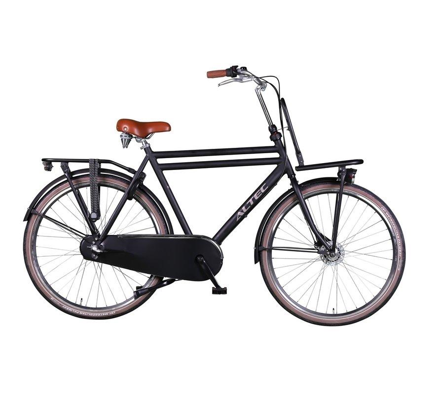 retro n-3 zwart 58 cm Heren Transportfiets
