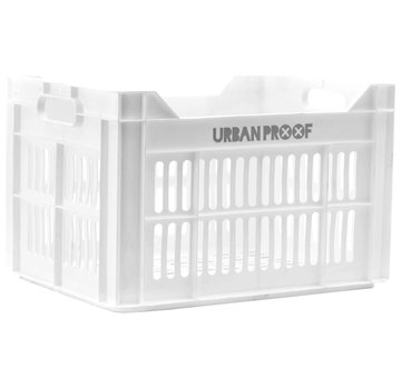 Urban Proof up fietskrat 30l wit kratten