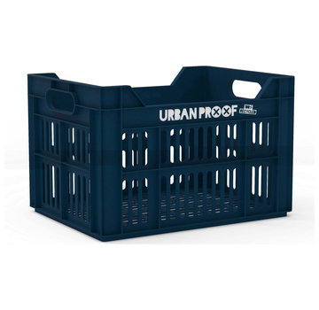 Urban Proof fietskrat 30l dark blue - recycled kratten
