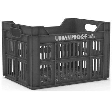 Urban Proof fietskrat 30l ash grey - recycled kratten