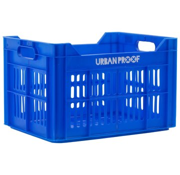 Urban Proof fietskrat 30l blauw kratten