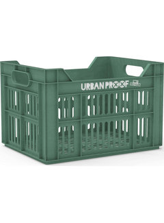Urban Proof fietskrat 30l frosty green - recycled kratten