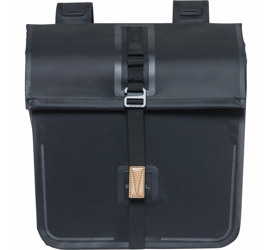 dubbele tas urban dry zwart Tassen