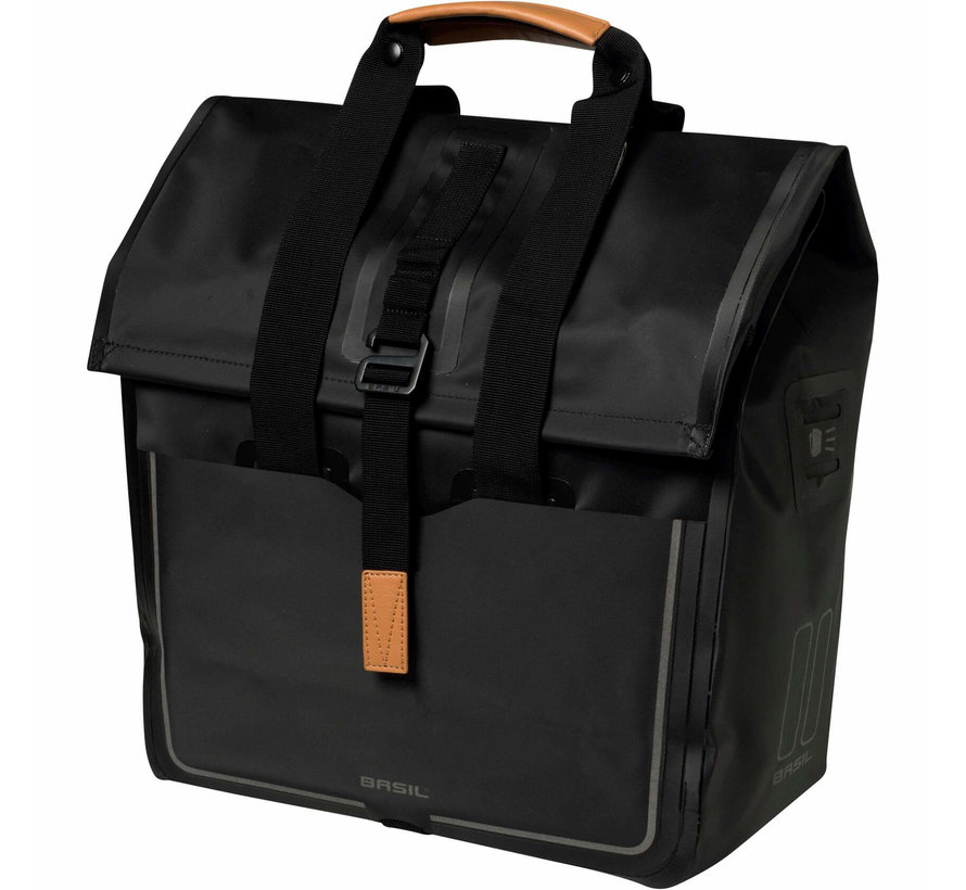 shoppertas urban dry matt black Tassen