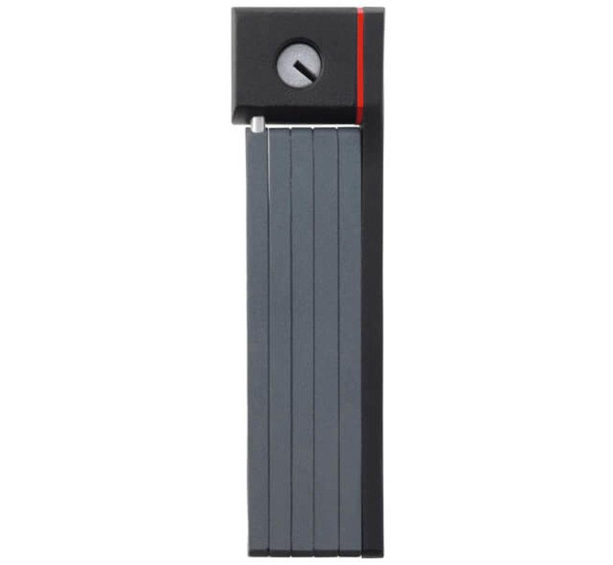 vouwslot bordo grip 5700 zwart Sloten