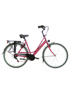 Static sphin 7v candy roze Damesfiets