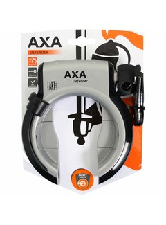 Axa ringslot defender zilver/zwart Sloten