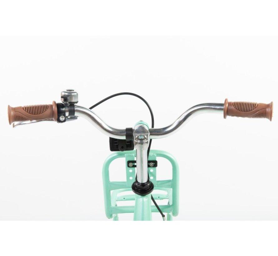 transporter groen 12 inch Meisjesfiets