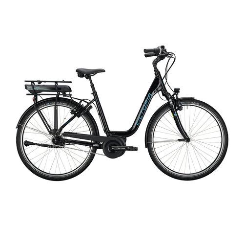 Victoria etrekking 5.7 deep black/blue 2020 Elektrische fiets dames